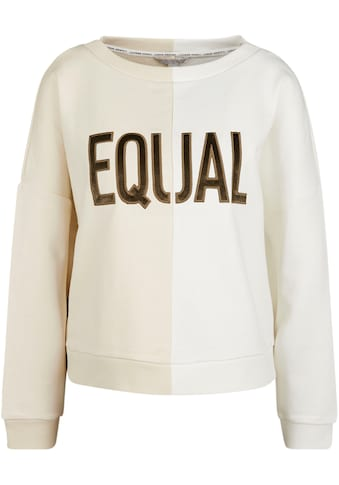 Comma Sweatshirt, mit Stickerei kaufen