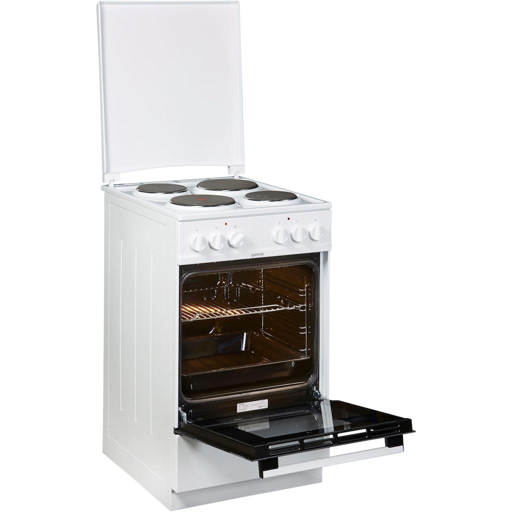 GORENJE Elektro-Standherd »E5121WH«, E5121WH