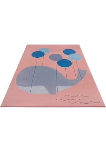 Kinderteppich, »Whale Buddy«, HANSE Home, rechteckig, Höhe 9 mm, maschinell gewebt kaufen