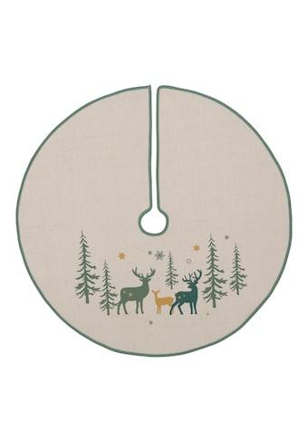 Baumteppich, »Hirsch«, , rund, Höhe 5 mm kaufen