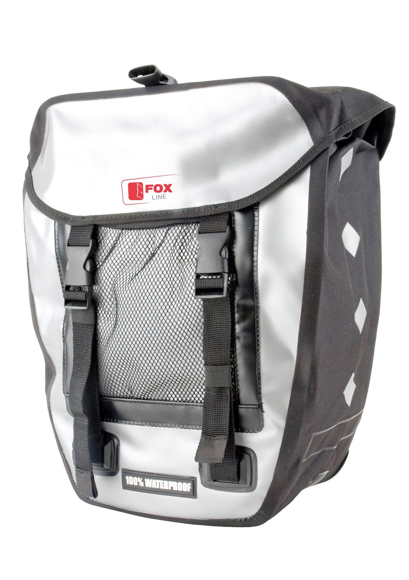 Fox Line Fahrradtasche | Taschen > Businesstaschen > Fahrrad-taschen Büro | Schwarz | FOX LINE