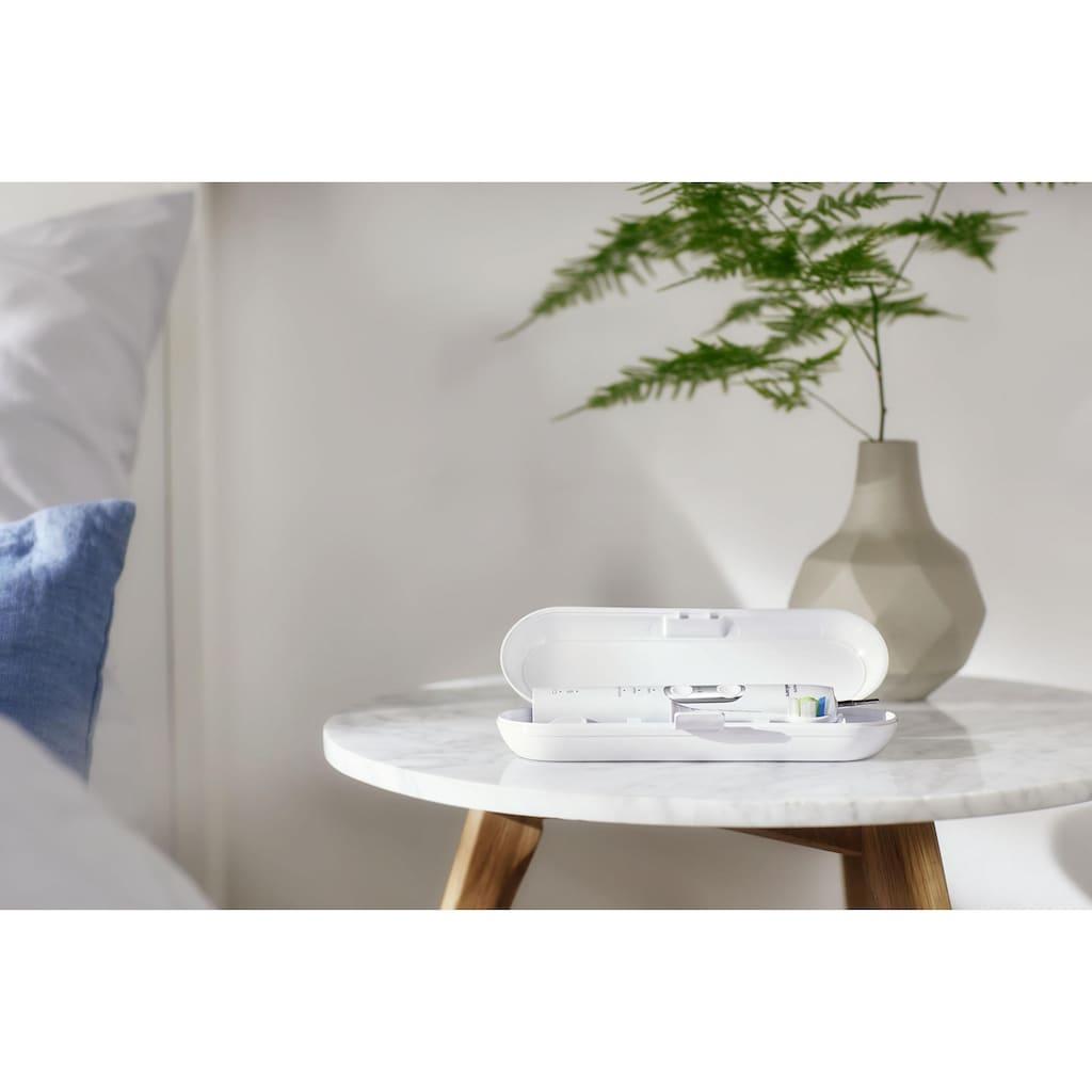 Philips Sonicare Elektrische Zahnbürste »HX6877/34«, 2 St. Aufsteckbürsten, ProtectiveClean 6100 Schallzahnbürste, Doppelpack mit 3 Putzprogrammen inkl. Reiseetuis & Ladegerät