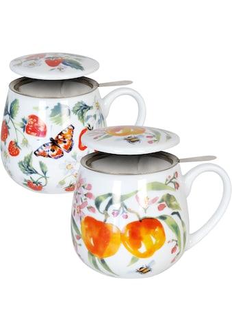 Könitz Becher »Tea Strawberry-Peach by V.Lowe«, (Set, 2 tlg., 2 Becher mit... kaufen