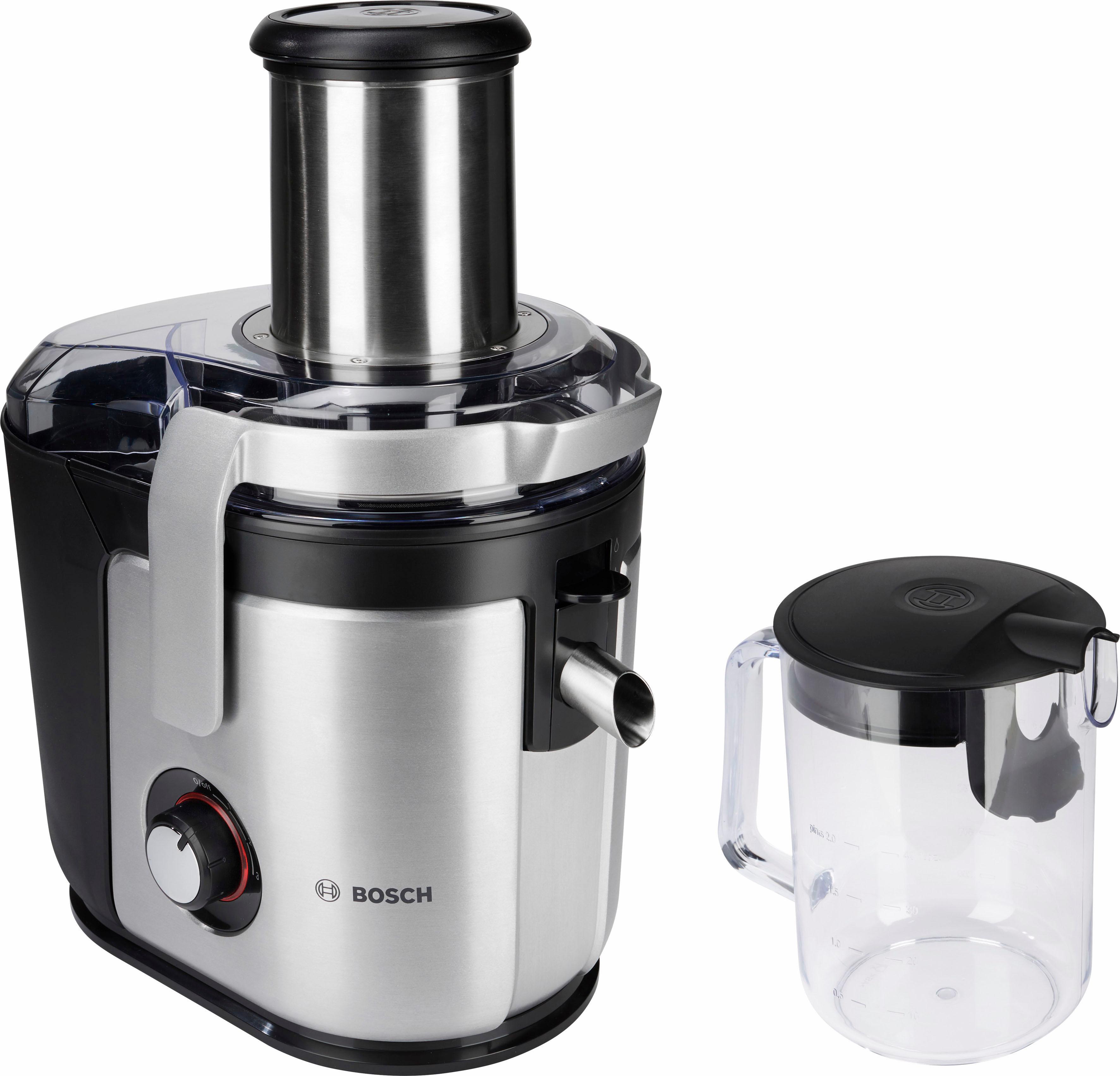 BOSCH Entsafter MES4010, 1200 Watt | Küche und Esszimmer > Küchengeräte > Entsafter | Schwarz | BOSCH