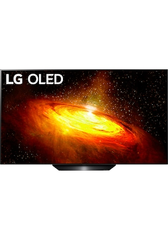"LG OLED-Fernseher »OLED65BX9LB«, 164 cm/65 "", 4K Ultra HD, Smart-TV, Twin Triple-Tuner-Google Assistant, Alexa und AirPlay 2-inkl. Magic Remote-Fernbedienung kaufen"