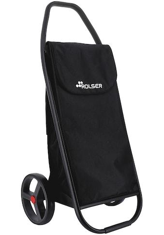 Rolser Einkaufstrolley »8 Com MF Black Tube«, negro, Max. Tragkraft: 50 kg, Tasche abnehmbar kaufen
