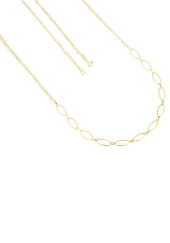 Firetti Goldkette »Ankerkettengliederung kombiniert mit Fantasiekettengliederung, 1,5 mm breit, Glanzoptik« kaufen