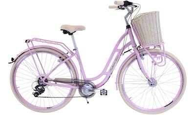 FASHION LINE Cityrad, 6 Gang, Shimano, TOURNEY TY 300 Schaltwerk, Kettenschaltung kaufen