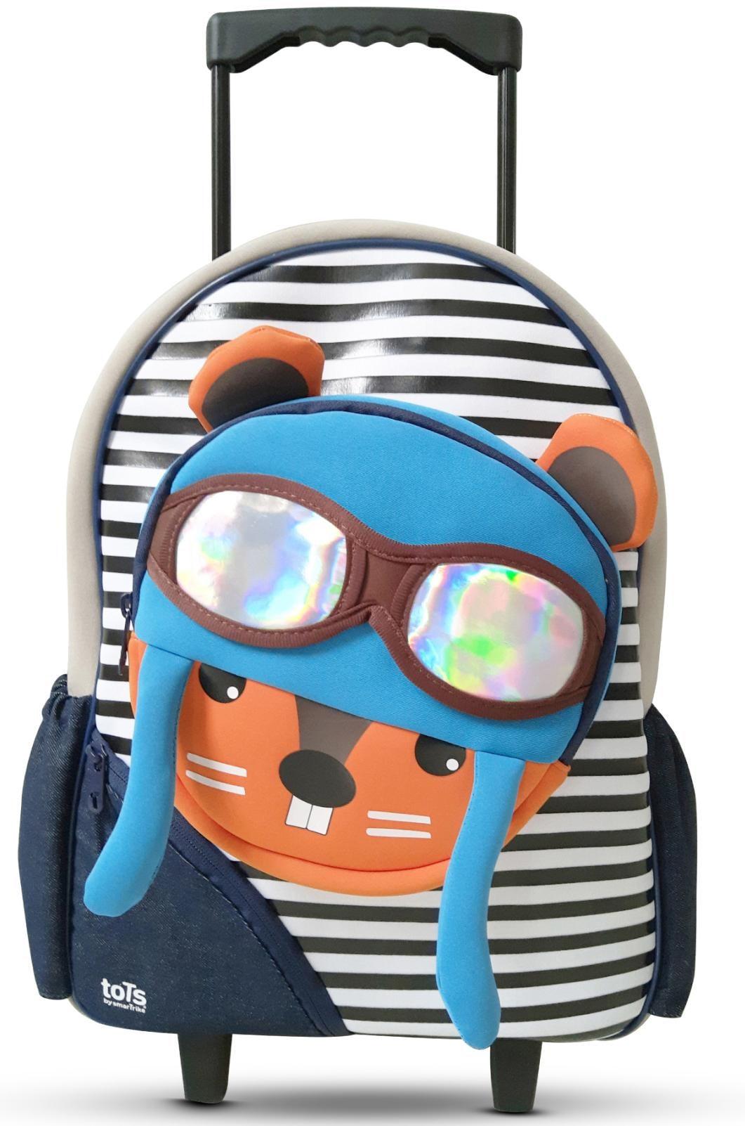 smarTrike® Kinderkoffer ´´Trolley Eichhörnchen´´, 2 Rollen | Taschen > Koffer & Trolleys > Trolleys | Bunt | smarTrike®
