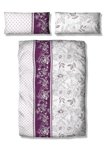 Home affaire Bettwäsche »Magarit«, mit Blüten und Muster kaufen