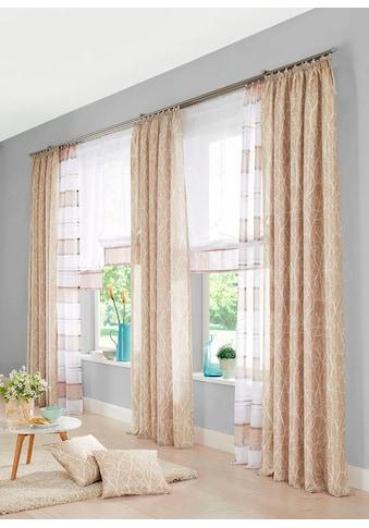 my home Vorhang »Camposa«, Gardine, Fertiggardine, halbtransparent kaufen