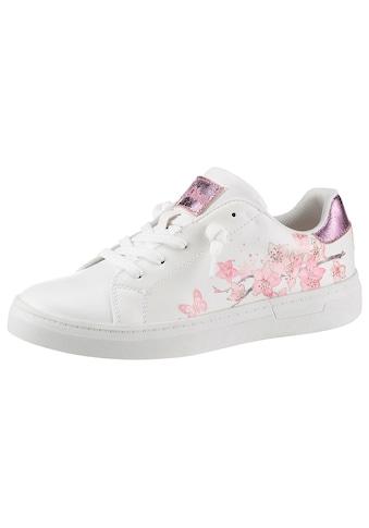 s.Oliver Sneaker, mit hübschem Blütenprint kaufen