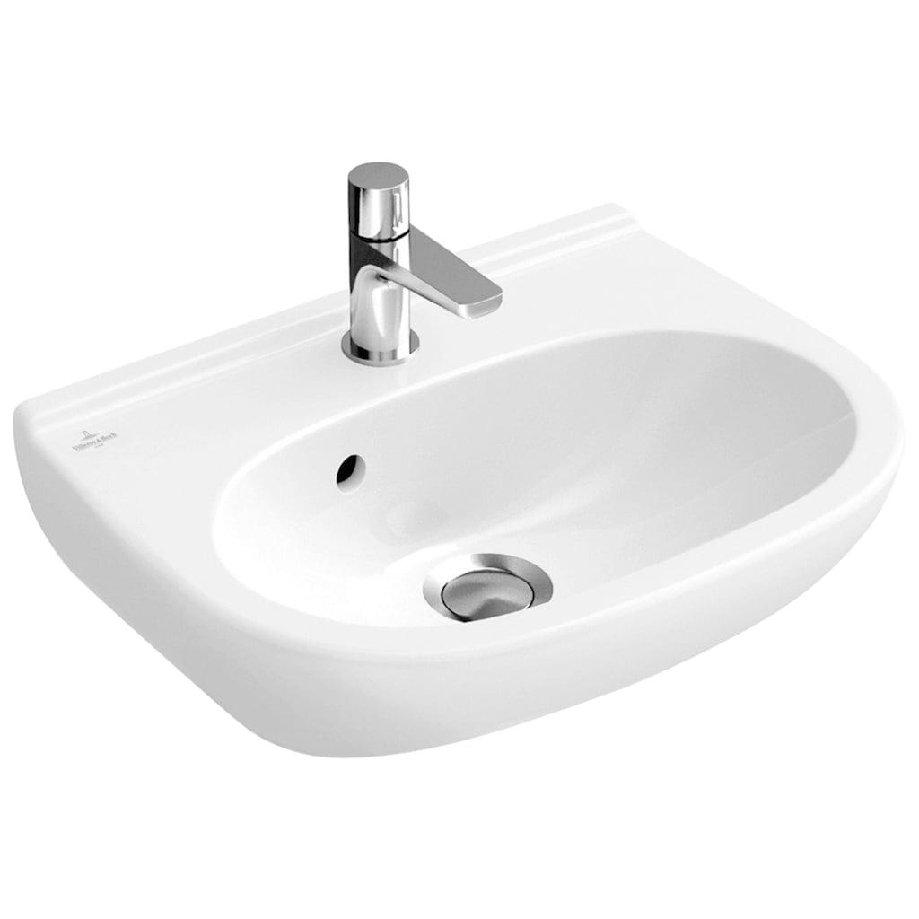 Villeroy & Boch Waschbecken »O.Novo«, mit CeramicPlus Beschichtung