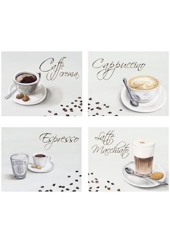 Home affaire Kunstdruck »Kaffee« (Set) kaufen