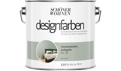 SCHÖNER WOHNEN-Kollektion Wand- und Deckenfarbe »Designfarben«, harmonisches Jadegrün... kaufen