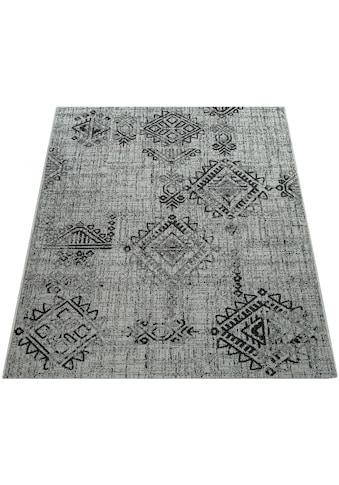 Paco Home Teppich »Coco 204«, rechteckig, 4 mm Höhe, Flachgewebe, In- und Outdoor... kaufen