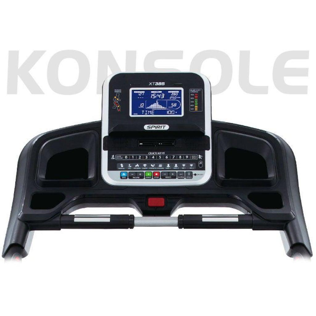 Spirit Fitness Laufband »XT 385«