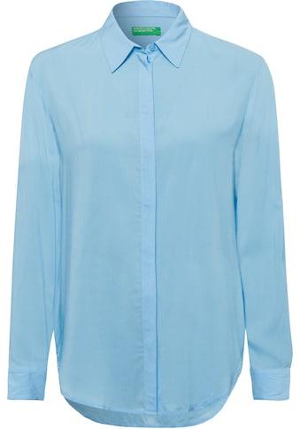 United Colors of Benetton Blusenshirt, mit verdeckter Knopfleiste kaufen