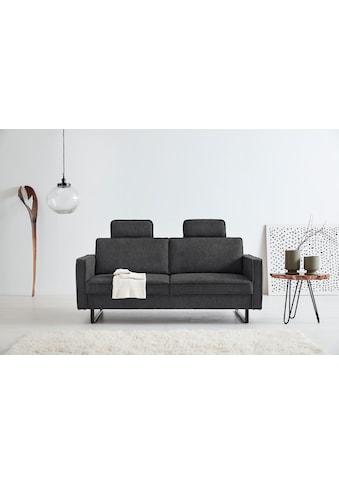 OTTO products 2,5-Sitzer »Renell«, Bezüge aus recyceltem Polyester, Metallkufen kaufen