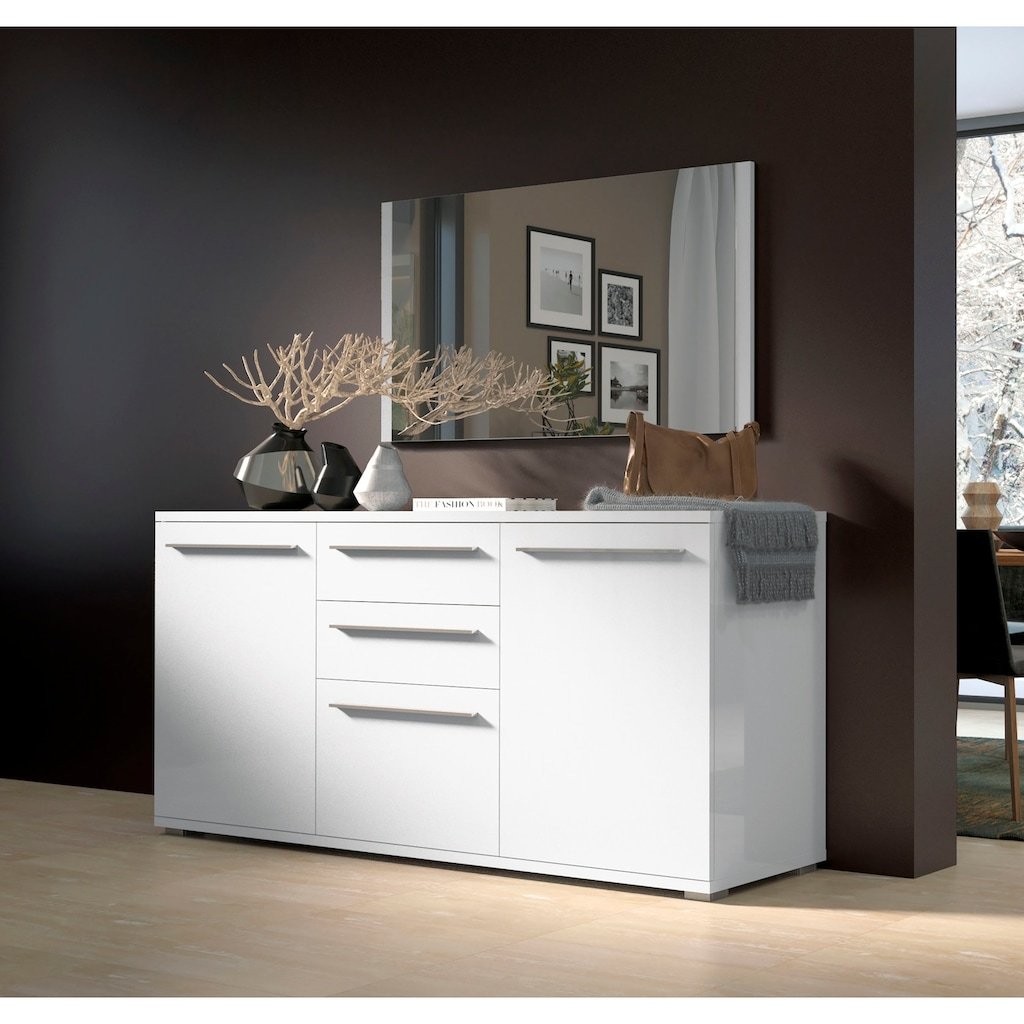 Places of Style Kommode »Piano«, UV lackiert, Soft-Close Funktion