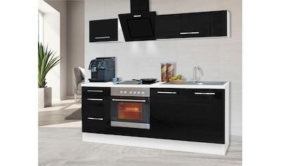 RESPEKTA Küchenzeile »RP210«, mit E-Geräten, Breite 210 cm kaufen
