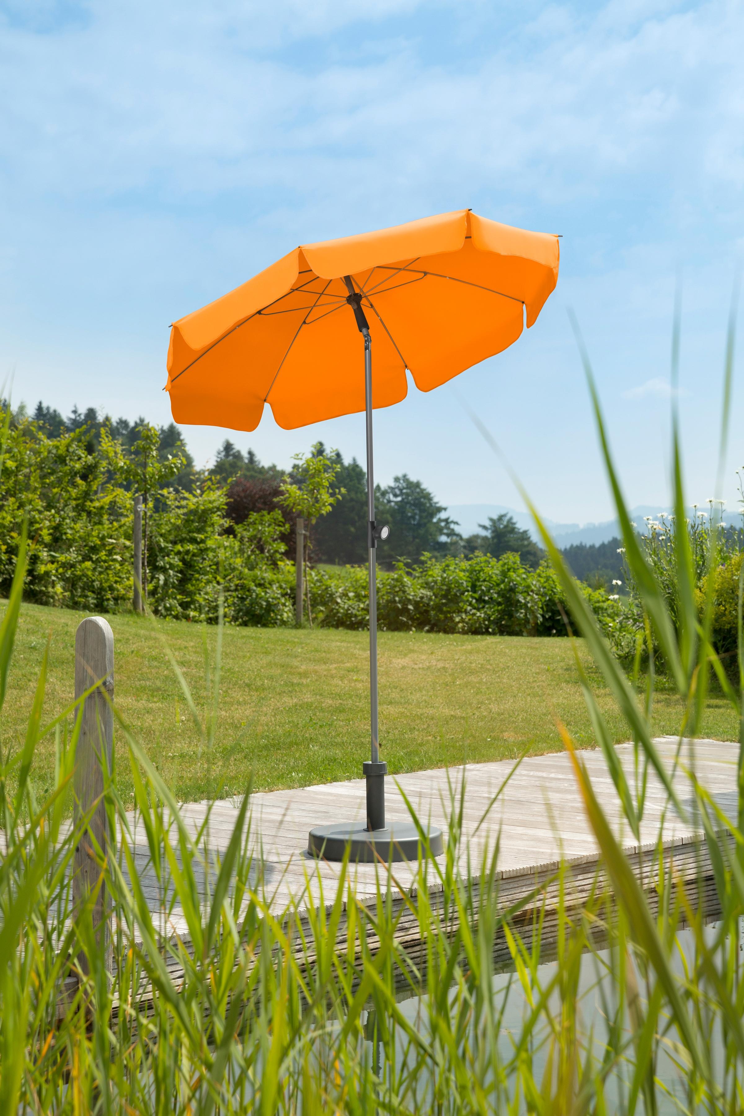 SCHNEIDER SCHIRME Sonnenschirm Locarno O 150 Cm Ca 160 G M2 Ohne Schirmstander