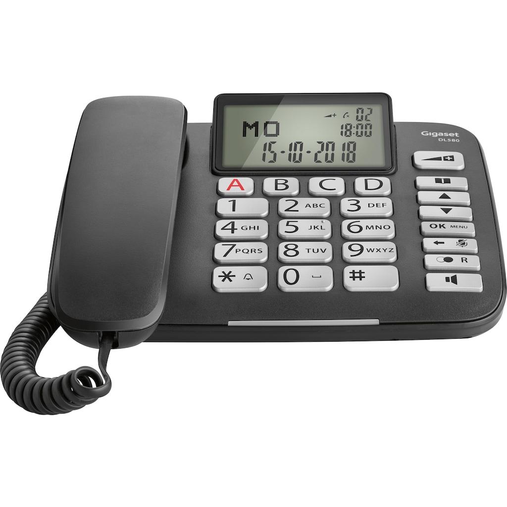 Gigaset Großtastentelefon »DL580«, ( )
