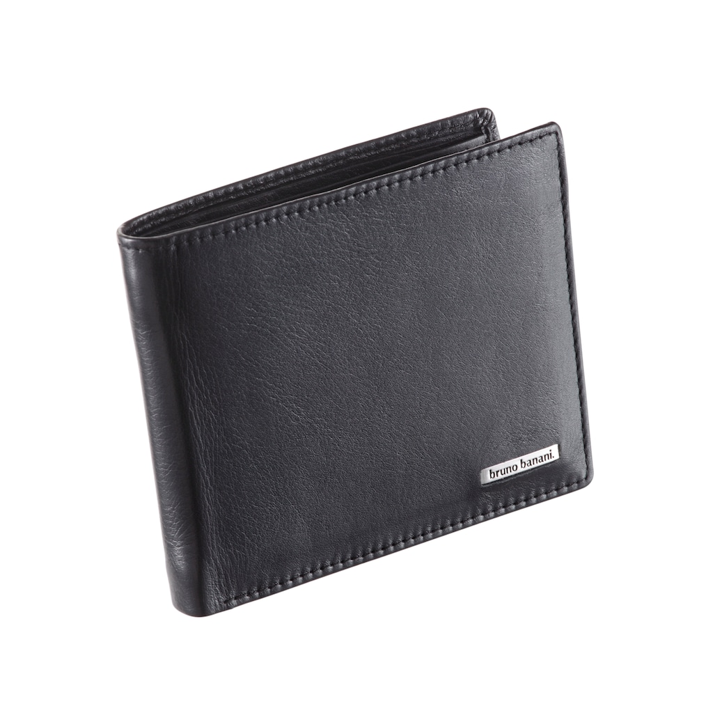 Bruno Banani Geldbörse, mit Datenschutz Funktion