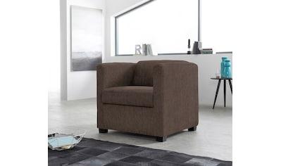 INOSIGN Sessel »Bob«, in verschiedenen modernen Farben und Qualitäten kaufen