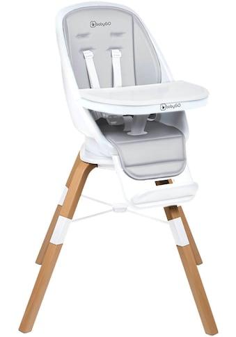 BabyGo Hochstuhl »Carou, weiß«, Sitz um 360° drehbar kaufen