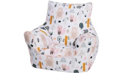 Knorrtoys® Sitzsack »Wildlife«, für Kinder; Made in Europe kaufen