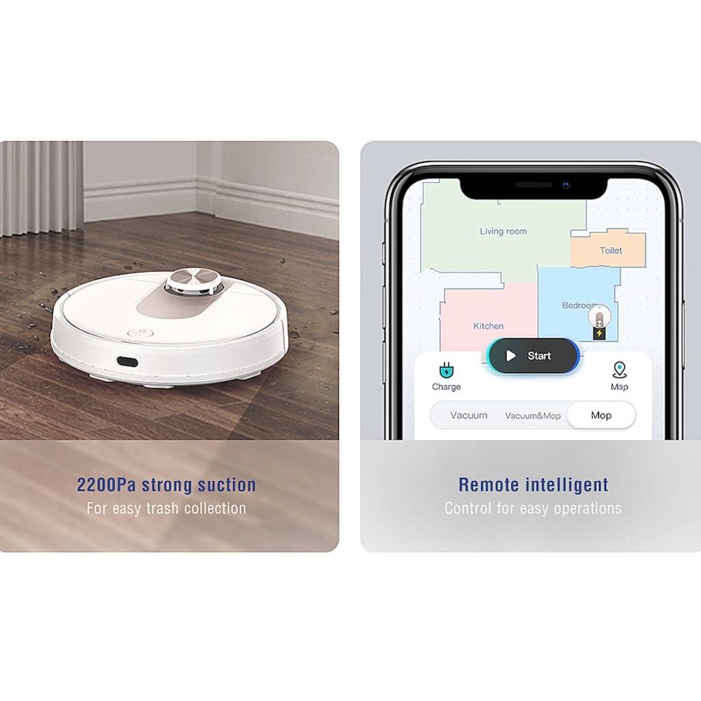 VIOMI Nass-Trocken-Saugroboter »Robot Vacuum Cleaner SE«, mit Wassertank, mit App Anbindung, 2 LDS