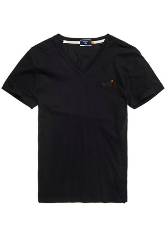 Superdry V-Shirt »OL CLASSIC VEE TEE NS« kaufen