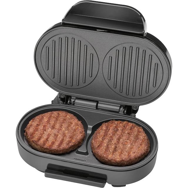 CLATRONIC Hamburger Maker HBM 3696, 1000 Watt