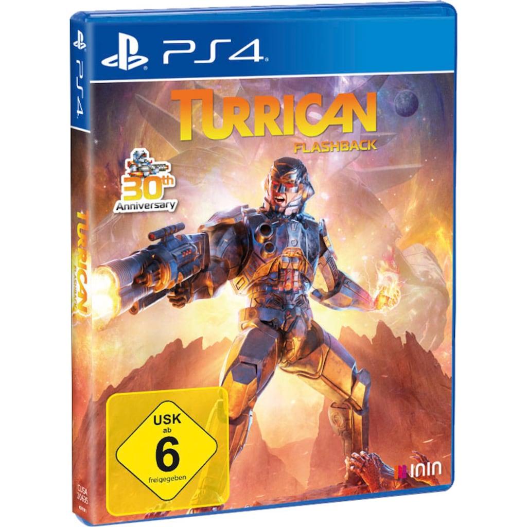 PlayStation 4 Spiel »Turrican Flashback«, PlayStation 4