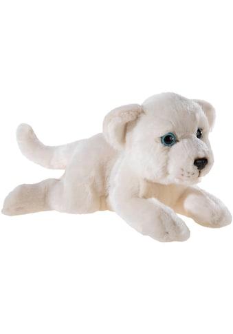 Heunec® Kuscheltier »MISANIMO Weisser Löwe, 25 cm«, liegend kaufen