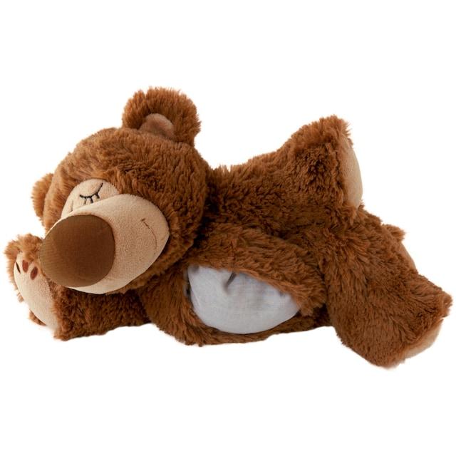 """Warmies® Wärmekissen """"Sleepy Bear braun, Kräuter"""""""