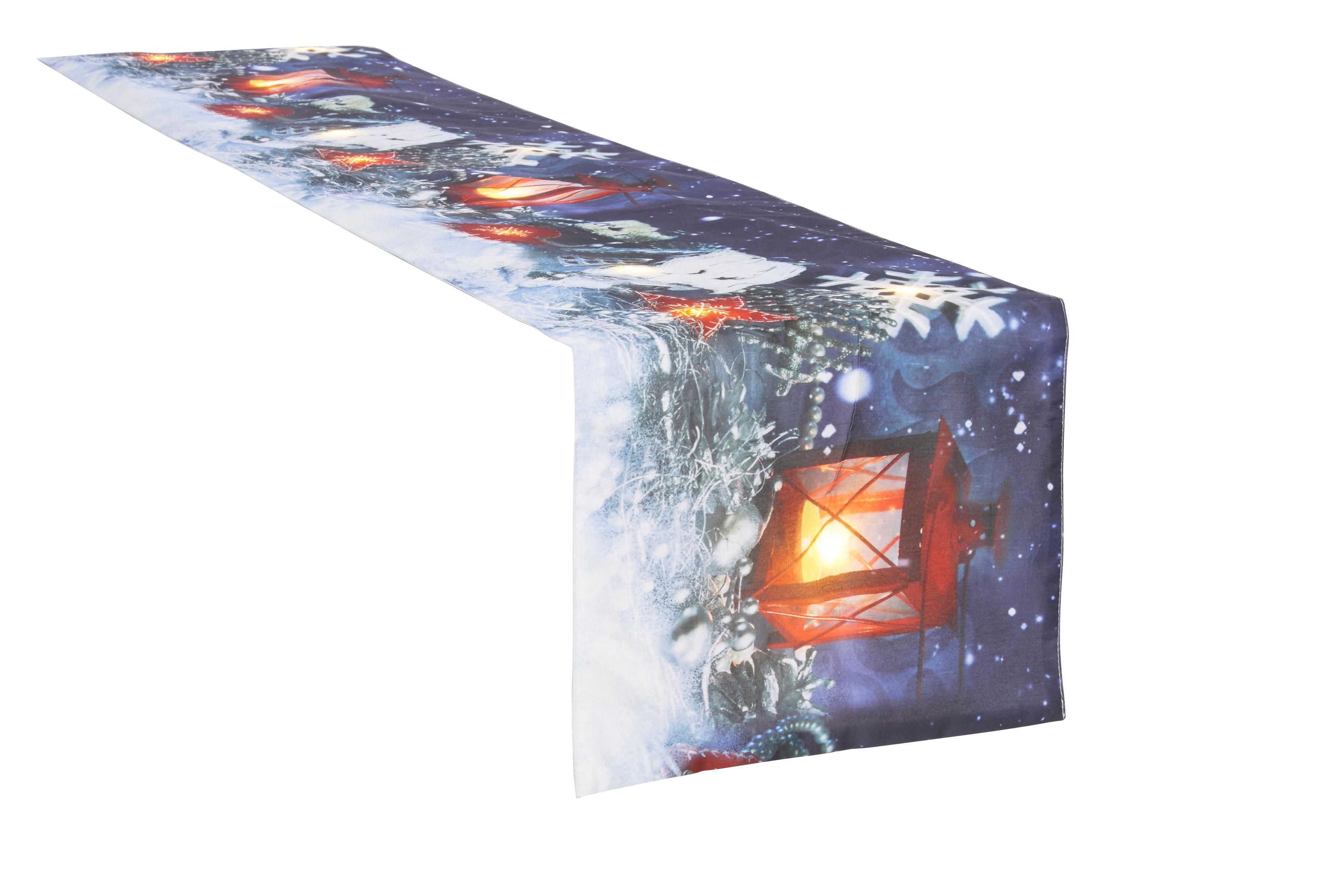 Tedi Weihnachtsdeko.Tischläufer My Home Winterzauber Weihnachtsdeko