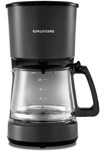 Grundig Filterkaffeemaschine »KM 4620«, Permanentfilter kaufen