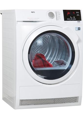 AEG Wärmepumpentrockner LAVATHERM T8DB66580, 8 kg kaufen