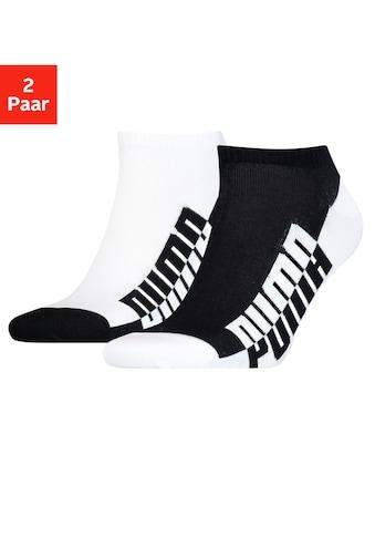 PUMA Sneakersocken, (2 Paar), mit großem Markenschriftzug kaufen