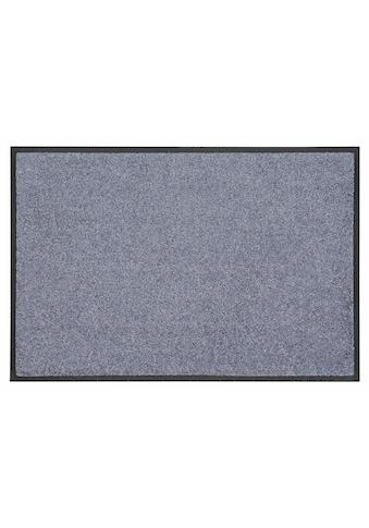 wash+dry by Kleen-Tex Fußmatte »Trend Uni«, rechteckig, 7 mm Höhe, Schmutzfangmatte,... kaufen
