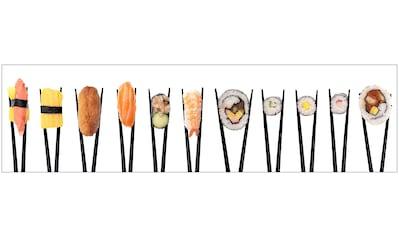 Küchenrückwand  -  Spritzschutz »profix«, Sushi, 220x60 cm kaufen