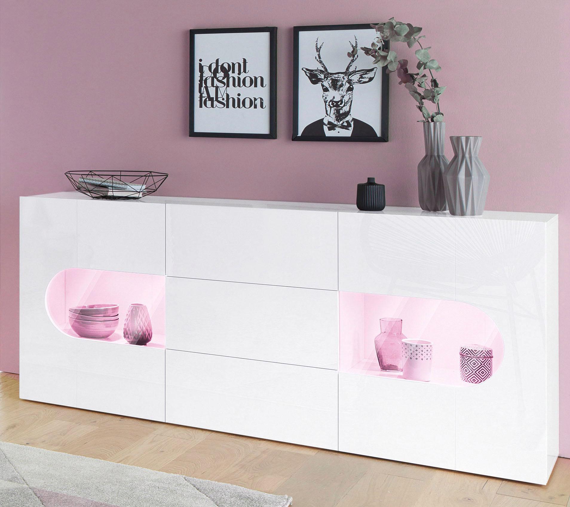 tecnos sideboard real breite 180 cm auf raten kaufen. Black Bedroom Furniture Sets. Home Design Ideas