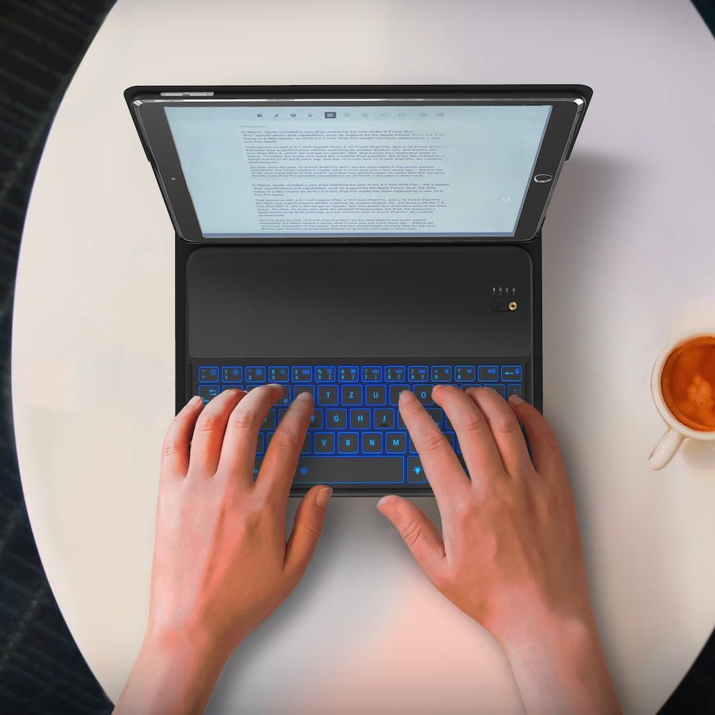"""Aplic Bluetooth Tastatur inkl. Kunstledercase für iPad Pro 10,5"""""""