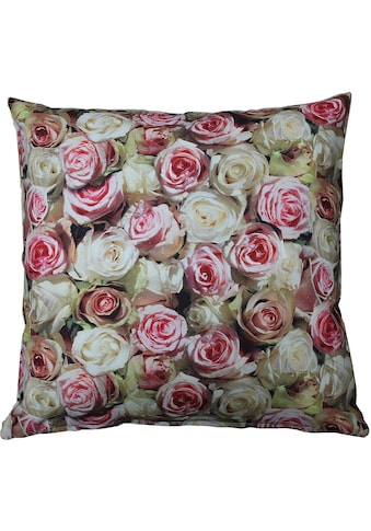 "Kissenhülle ""32452 Roses"" HOSSNER  -  HOMECOLLECTION kaufen"
