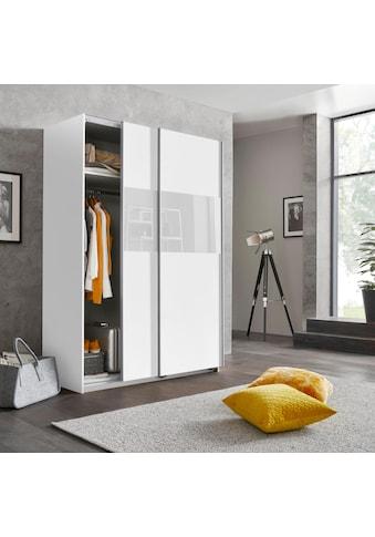 Wimex Schwebetürenschrank »Bramfeld«, mit Glaselementen und zusätzlichen Einlegeböden kaufen
