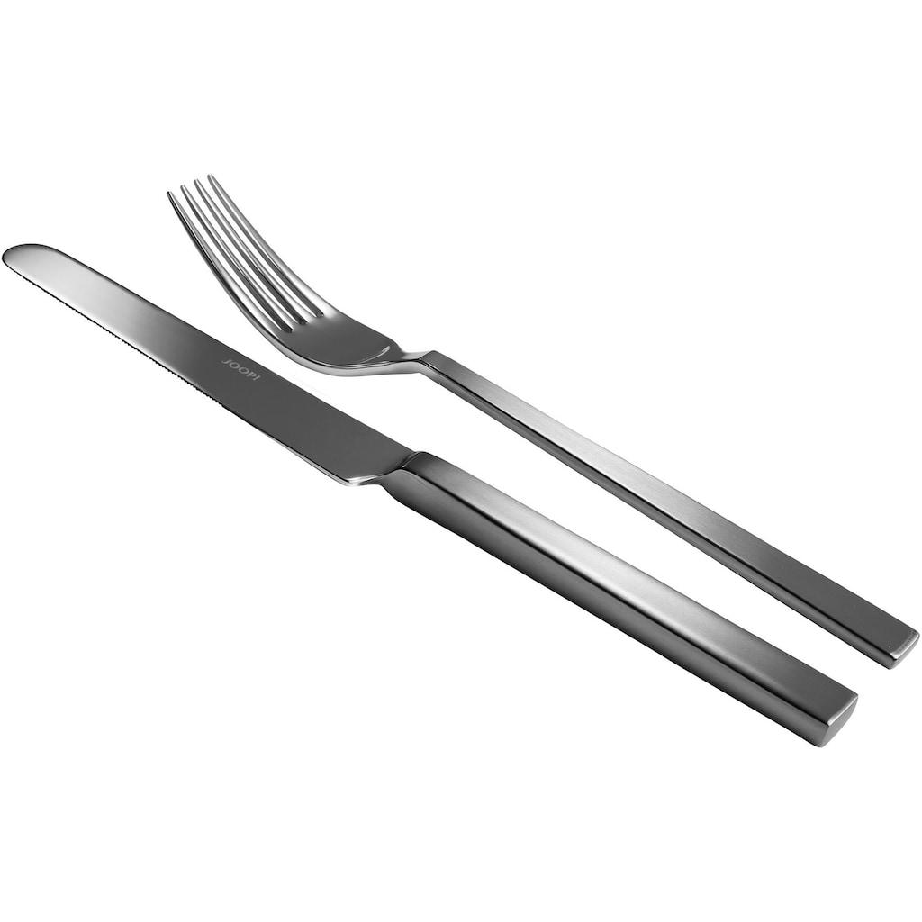 Joop! Besteck-Set »JOOP! DINING GLAMOUR«, (Set, 30 tlg.), aus glänzendem und satiniertem 18/10-Edelstahl mit JOOP! Label, 30-teilig