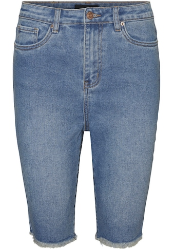 Vero Moda Curve Jeansshorts, Mit ausgefranstem Saum kaufen