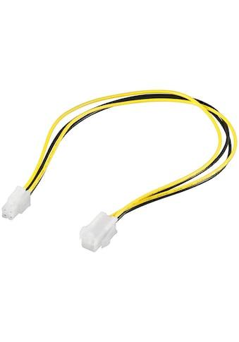 Goobay PC Stromkabel »Verlängerung ATX12 P4; 4 Pin« kaufen